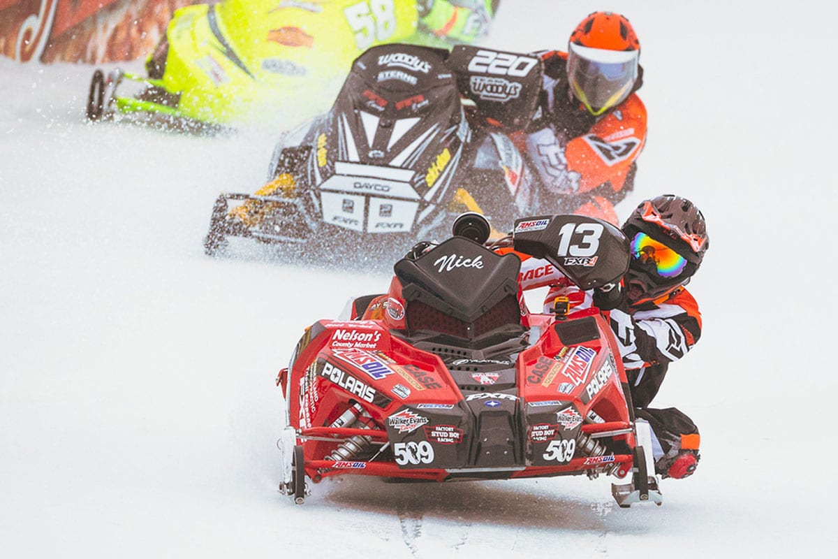 Snowmobile Derby Weekend